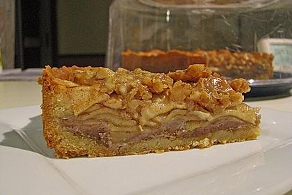 Apfelkuchen mit Walnusscreme 4