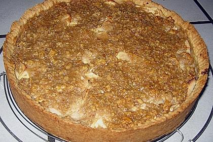 Apfelkuchen mit Walnusscreme 45