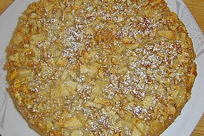 Apfelkuchen mit Walnusscreme 42