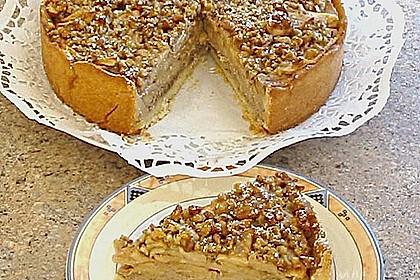 Apfelkuchen mit Walnusscreme 15