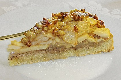 Apfelkuchen mit Walnusscreme 3