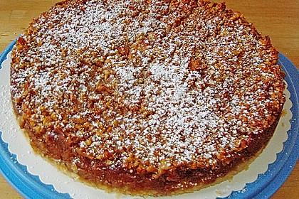 Apfelkuchen mit Walnusscreme 55