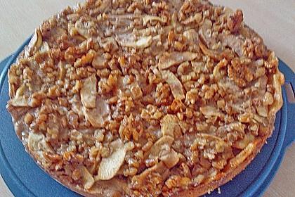 Apfelkuchen mit Walnusscreme 61