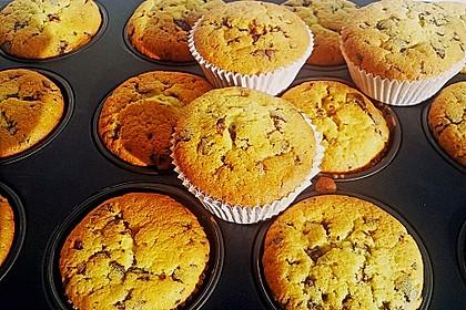 Muffins mit Schokosplittern 27