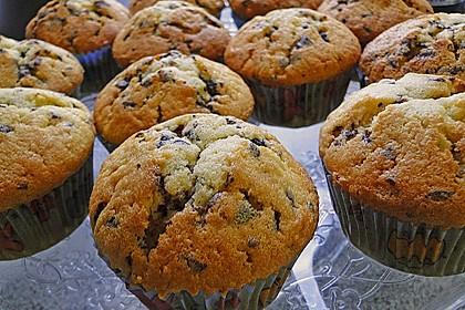 Muffins mit Schokosplittern 1