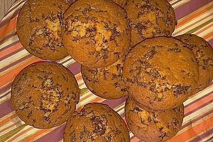 Muffins mit Schokosplittern 39