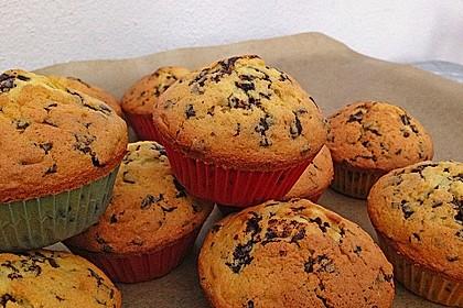 Muffins mit Schokosplittern 17