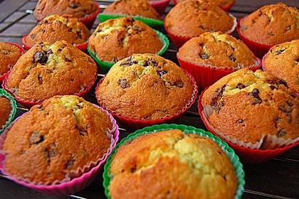 Muffins mit Schokosplittern 4