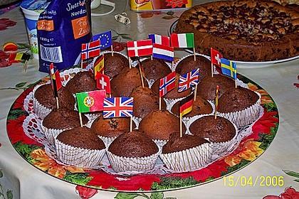Muffins mit Schokosplittern 30