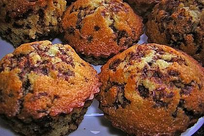 Muffins mit Schokosplittern 36