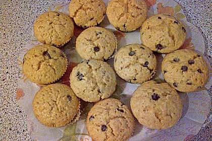 Muffins mit Schokosplittern 42