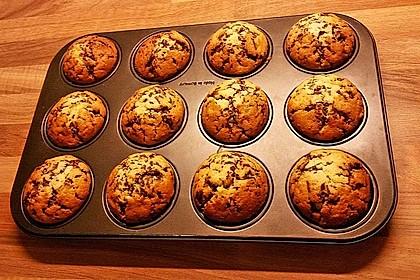 Muffins mit Schokosplittern 21