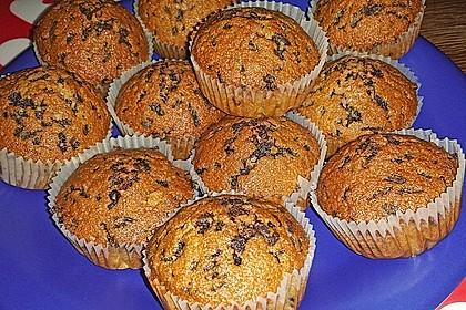 Muffins mit Schokosplittern 29