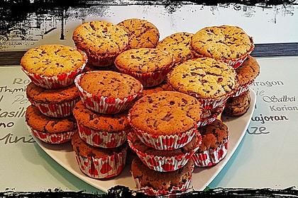 Muffins mit Schokosplittern 48