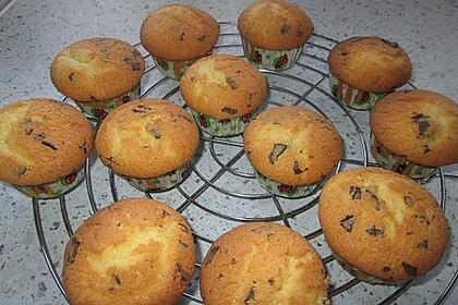 Muffins mit Schokosplittern 41