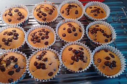 Muffins mit Schokosplittern 52