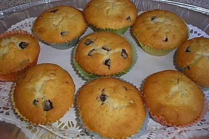 Muffins mit Schokosplittern 33