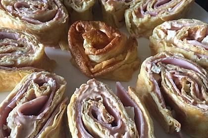 Pfannkuchen - Rolle vom Blech 13