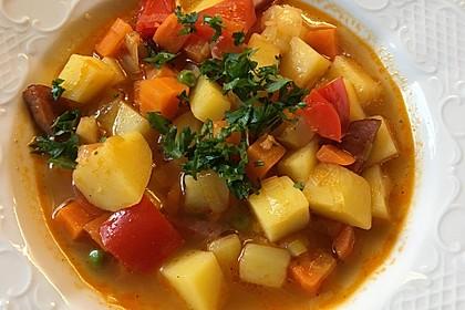 Gemischter Gemüseeintopf 1