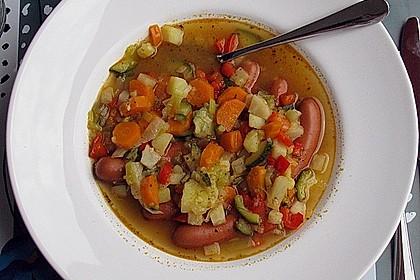 Gemischter Gemüseeintopf 2