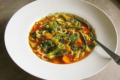 Gemischter Gemüseeintopf 11