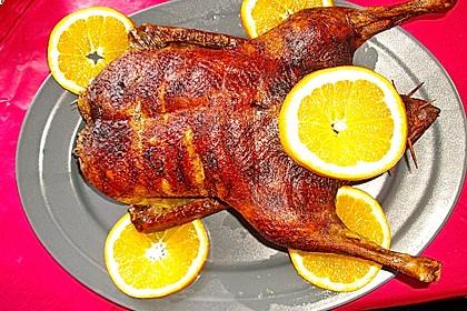 Ente mit Orangen 1
