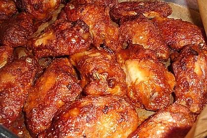 Scharfe Chicken - Wings 5
