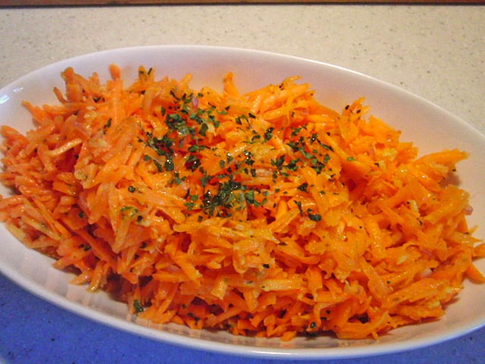 Dressing Für Karottensalat : karottensalat mit ingwer vinaigrette von chica ~ Lizthompson.info Haus und Dekorationen