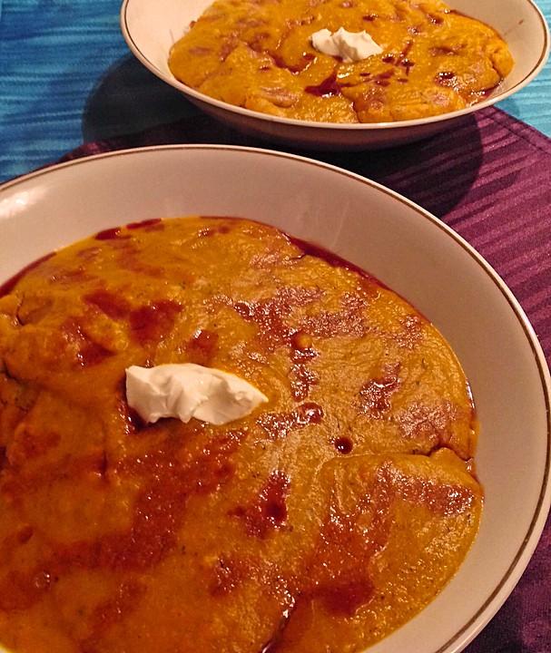 kürbissuppe mit apfel, chili und ingwer (rezept mit bild ... - Chefkoch De Kürbissuppe