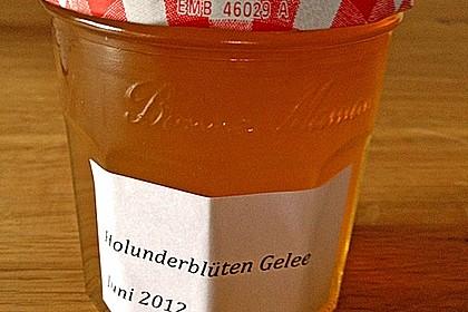 Holunderblüten - Apfel Gelee 15