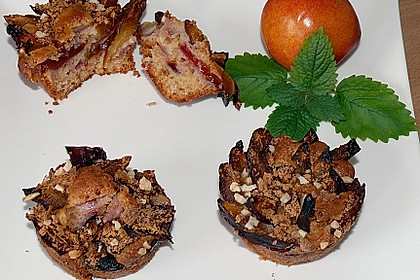Zwetschgen - Amarettini - Kuchen 1