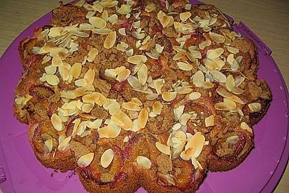 Zwetschgen - Amarettini - Kuchen 4