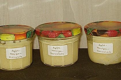 Apfel - Marzipan - Marmelade mit Amaretto 10