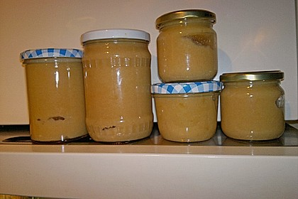 Apfel - Marzipan - Marmelade mit Amaretto 12