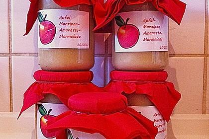 Apfel - Marzipan - Marmelade mit Amaretto 2