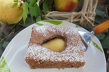 Birnen - Brownies 1