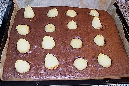 Birnen - Brownies 3