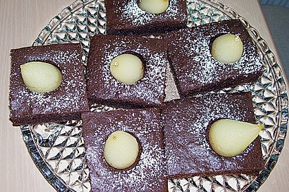Birnen - Brownies 4