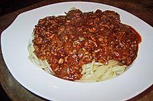 Spaghetti Bolognese à la Corela
