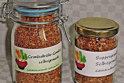 Getrocknete Gemüsebrühe 6