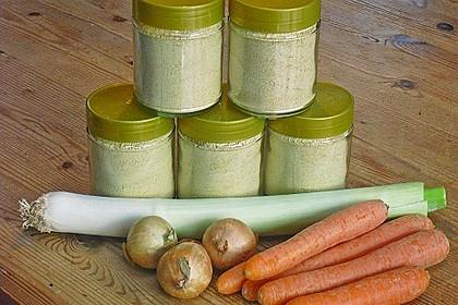 Getrocknete Gemüsebrühe 7