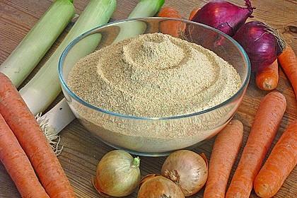 Getrocknete Gemüsebrühe 3