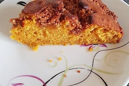 Kürbis Pie - Kuchen mit Walnuss - Streuseln 32