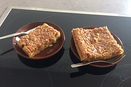 Kürbis Pie - Kuchen mit Walnuss - Streuseln 28