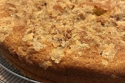 Kürbis Pie - Kuchen mit Walnuss - Streuseln 34