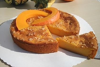 Kürbis Pie - Kuchen mit Walnuss - Streuseln 29