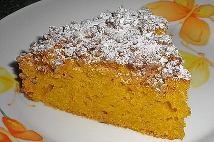 Kürbis Pie - Kuchen mit Walnuss - Streuseln 4