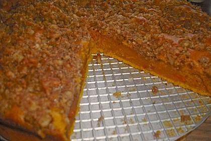 Kürbis Pie - Kuchen mit Walnuss - Streuseln 39