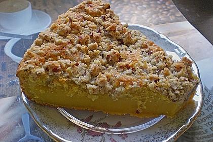 Kürbis Pie - Kuchen mit Walnuss - Streuseln 25