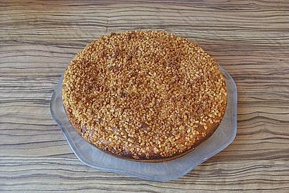 Kürbis Pie - Kuchen mit Walnuss - Streuseln 36
